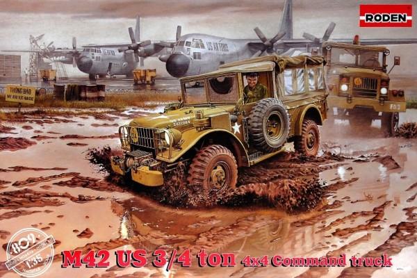 RN809   M-42 U.S. 4×4 command truck (thumb21948)