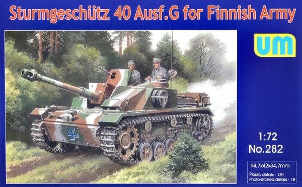 UM282   Sturmgeschutz 40 Ausf.G for Finnish Army (thumb24506)