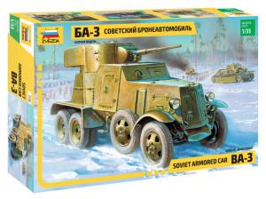 """ZV3546 Советский бронеавтомобиль БА-3"""" (ограниченая серия) (thumb23430)"""