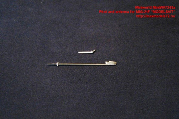 "MiniWA7248a    Pitot and antenna for MIG-21F ""MODELSVIT"" (thumb23103)"