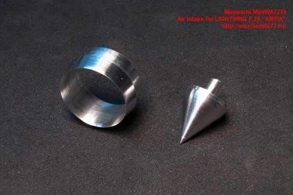 "MiniWA7251    Air intake for LIGHTNING F.2A ""AIRFIX"" (thumb23121)"