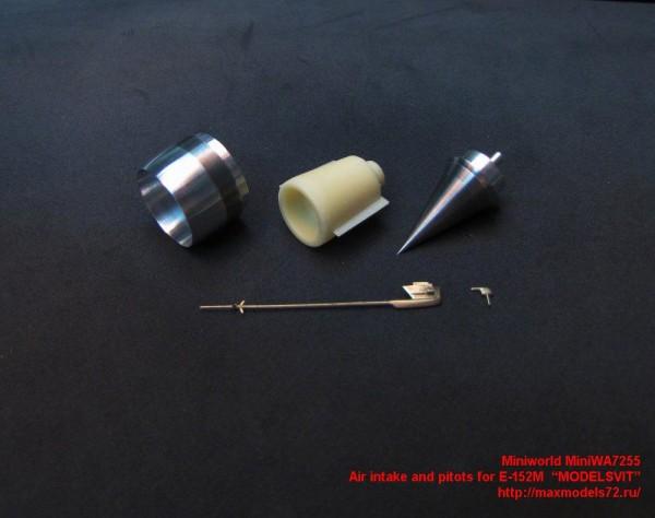 "MiniWA7255    Air intake and pitots for E-152M  ""MODELSVIT"" (thumb23133)"