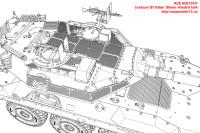 ACE72437   Centauro B1 Italian 105mm wheeled tank (attach9 25445)