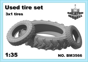 BM3566 Used tire set 3*1 tires (thumb22551)