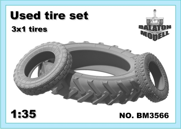 BM3566   Used tire set 3*1 tires (thumb22551)