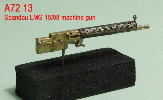 MiniWА7213    Spandau LMG 15/08 machine gun (thumb22959)