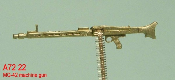 MiniWА7222    MG-42 machine gun (thumb22979)