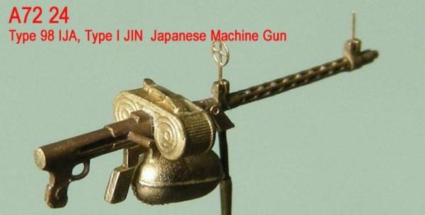 MiniWА7224    Type 98 IJA, Type I JIN  Japanese Machine Gun (thumb22985)