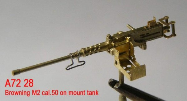 MiniWА7228    Browning M2 cal.50 on mount tank (thumb23000)