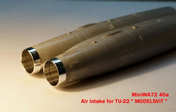 "MiniWA7240a    Air intake for TU-22 "" MODELSVIT "" (thumb23060)"