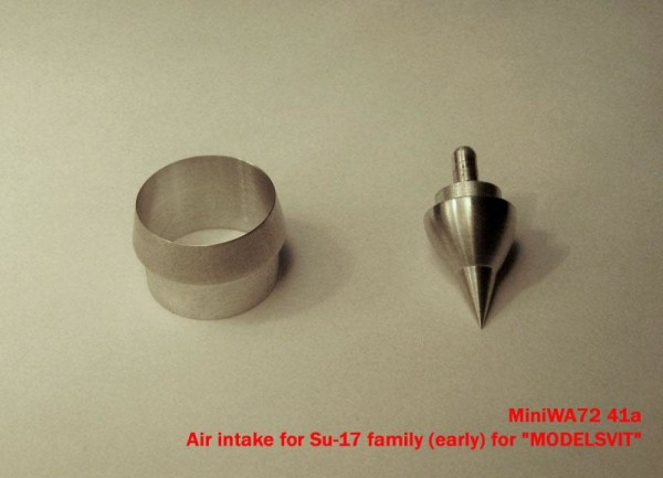 "MiniWA7241a    Air intake for Su-17 family (early) for ""MODELSVIT"" (thumb23065)"