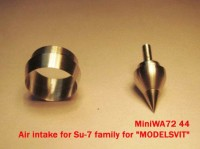 MiniWA7244    Air intake for Su-7 family for «MODELSVIT» (attach2 23075)