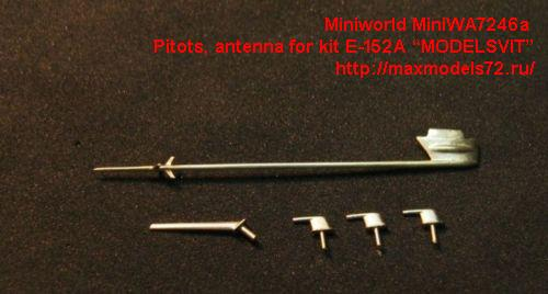 "MiniWA7246a    Pitots, antenna for kit E-152А ""MODELSVIT"" (thumb23082)"