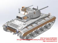 OKBR72002   US Light Tank M24 Chaffee (Early Production),Mammoth Edition (attach1 24022)