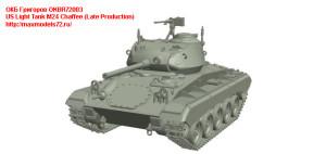 OKBR72003   US Light Tank M24 Chaffee (Late Production) (thumb24030)