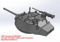 OKBR72003   US Light Tank M24 Chaffee (Late Production) (attach4 24030)