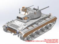 OKBR72004   US Light Tank M24 Chaffee (Late Production), Mammoth Edition (attach1 24038)