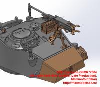 OKBR72004   US Light Tank M24 Chaffee (Late Production), Mammoth Edition (attach2 24038)