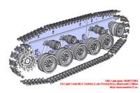 OKBR72004   US Light Tank M24 Chaffee (Late Production), Mammoth Edition (attach3 24038)