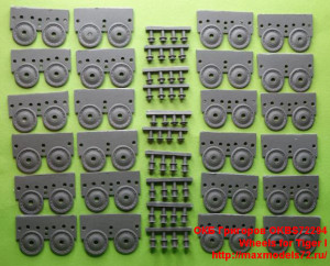 OKBS72294   Wheels for Tiger I (attach1 22745)