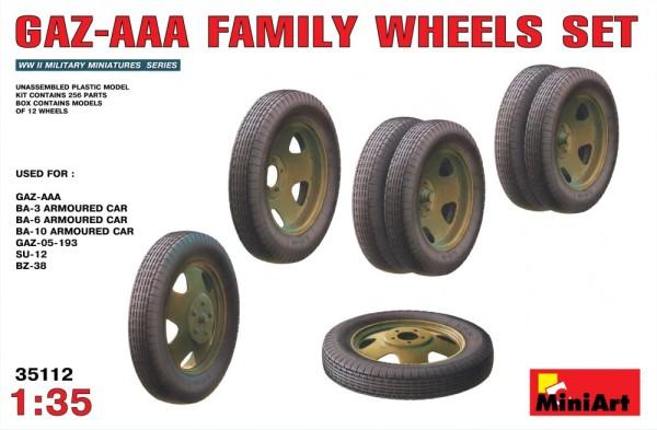 MA35112   GAZ-AAA  family wheels set (thumb26322)
