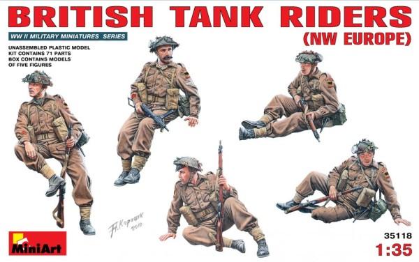 MA35118   British tank riders, NW Europe (thumb26347)