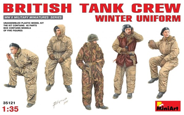 MA35121   British tank crew, (winter uniform) (thumb26349)