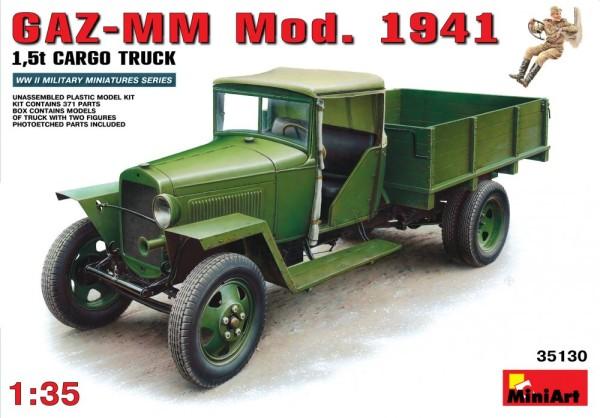 MA35130   GAZ-MM  Mod. 1941 1.5t Cargo truck (thumb26387)