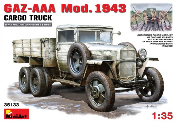 MA35133   GAZ-AAA Mod. 1943 Cargo truck (thumb26401)