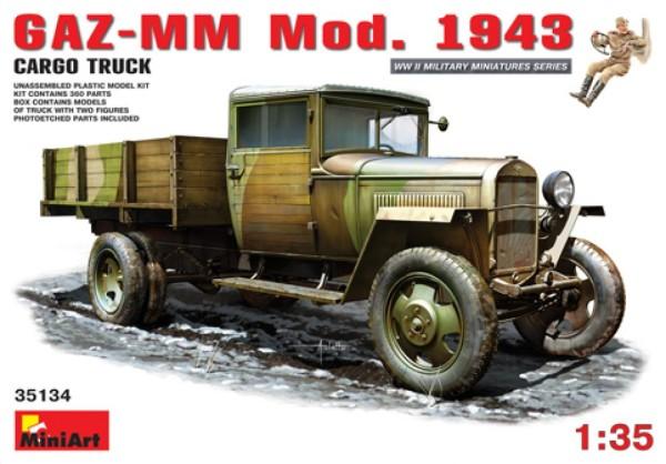 MA35134   GAZ-MM. Mod. 1943. Cargo Truck (thumb26409)