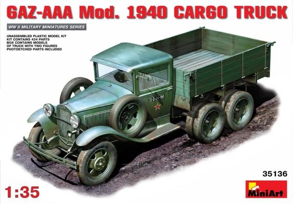 MA35136   GAZ-AAA Mod. 1940 Cargo truck (thumb26419)