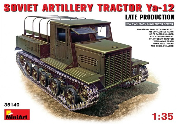MA35140   Soviet artillery tractor Ya-12, late production (thumb26437)