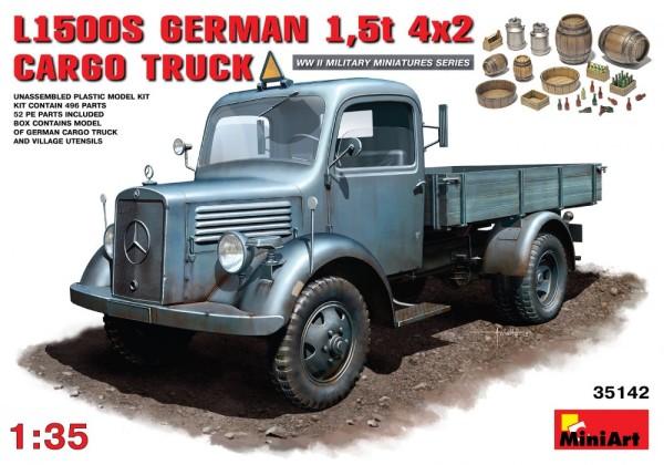 MA35142   L1500S. German 1,5t 4х2 cargo truck (thumb26447)