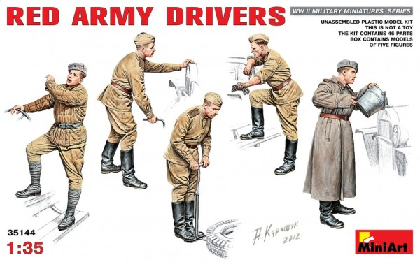 MA35144   WWII Red Army drivers (thumb26463)