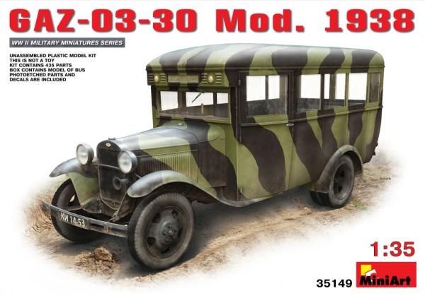 MA35149   GAZ-03-30 Soviet bus, model 1938 (thumb26485)