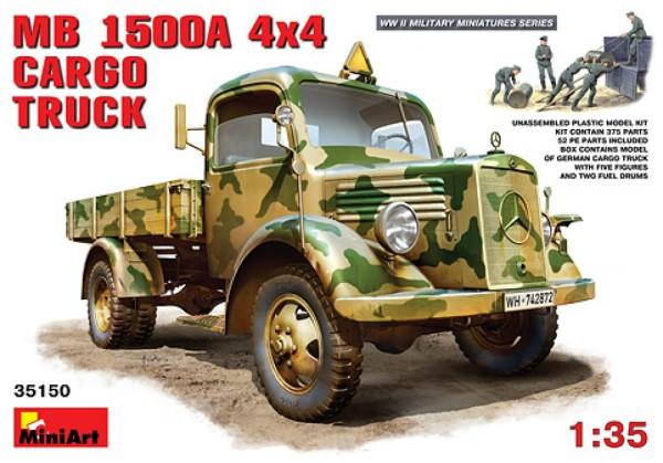 MA35150   MB L1500A 4x4 cargo truck (thumb26492)