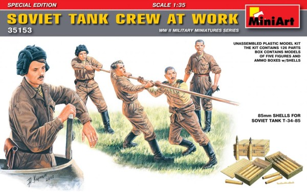 MA35153   Soviet tank crew at work. Special Edition (thumb26503)