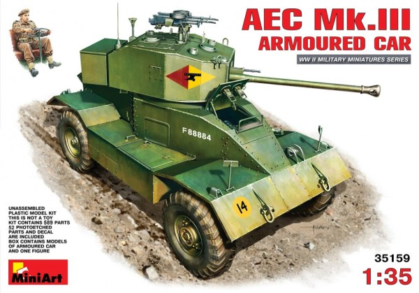 MA35159   AEC Mk.III armoured car (thumb26538)