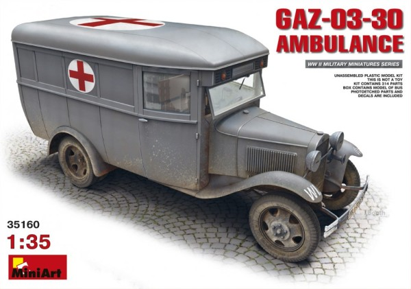 MA35160   GAZ-03-30 Ambulance (thumb26546)