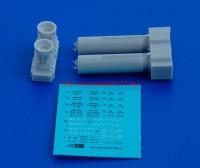 АМС 72027-1   РБК-500 АО-2,5 РТМ, разовая бомбовая кассета калибра 500 кг без носового обтекателя (в комплекте две РБК-500). (attach3 37575)