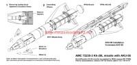 AMC 72235-3   Авиационная управляемая ракета Х-29Л с пусковой АКУ-58 (attach2 37816)