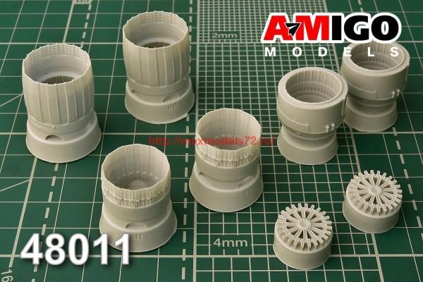 АМG 48011   МиГ-29 сопло двигателя РД-33 (thumb38173)