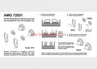АМG 72051   Як-130 набор заглушек и турбина низкого давления двигателя АИ-222-25 (attach1 38151)