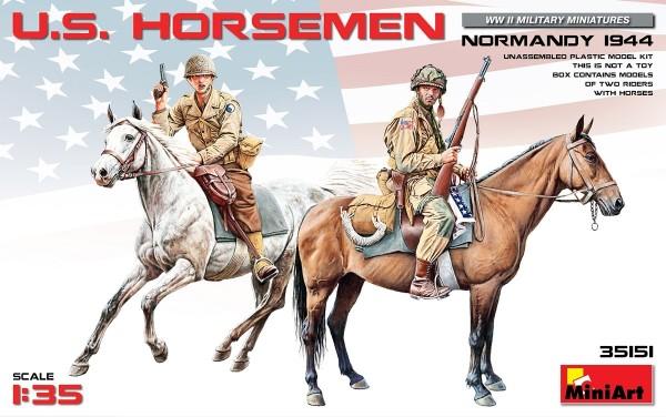 MA35151   U.S. Horsemen. Normandy 1944 (thumb26499)