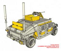TM7203   U.S.HMMWV M1114 FRAG5 w/GPK Turret (attach5 27430)