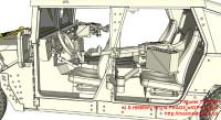TM7203   U.S.HMMWV M1114 FRAG5 w/GPK Turret (attach6 27430)