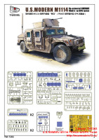 TM7203   U.S.HMMWV M1114 FRAG5 w/GPK Turret (attach1 27430)