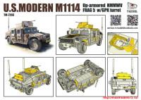 TM7203   U.S.HMMWV M1114 FRAG5 w/GPK Turret (attach2 27430)