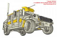 TM7203   U.S.HMMWV M1114 FRAG5 w/GPK Turret (attach4 27430)