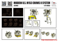 TMA72002   Modern US M153 Crows II System (3 set in 1) (attach1 27438)